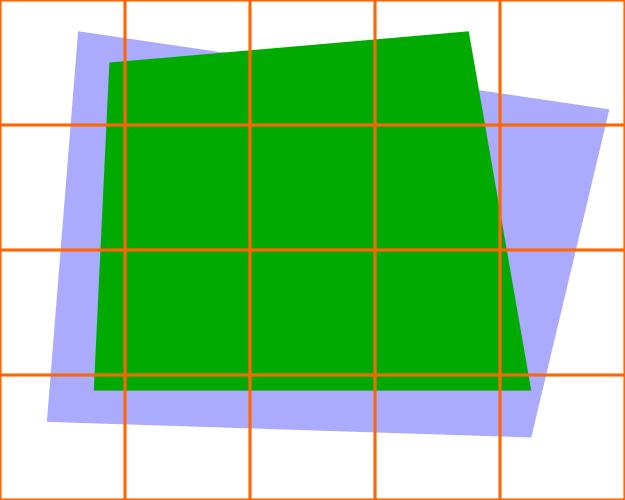 Tiled simple scene